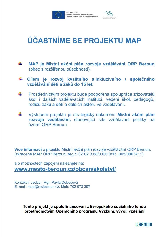 projekt MAP eu001